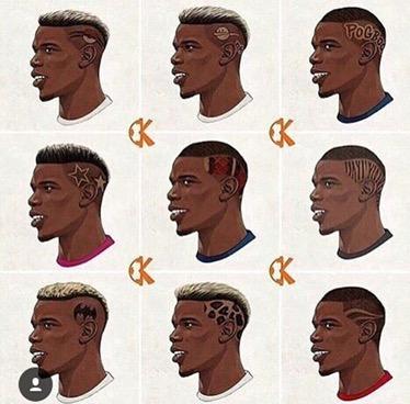 Tutti i look di PaulPogba