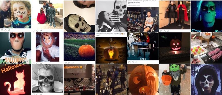 Halloween-mania, ecco come festeggiano icalciatori