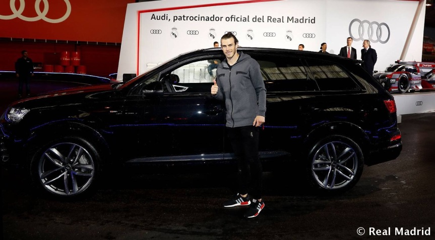 Real Madrid, Quando l'auto è un accessorio di stile