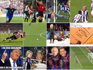 Hillary vs Trump come Milan-Liverpool: tutti i meme del calcio sulle presidenzialiamericane