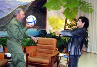 Fidel Castro e Maradona: i due più grandi rivoluzionari disempre