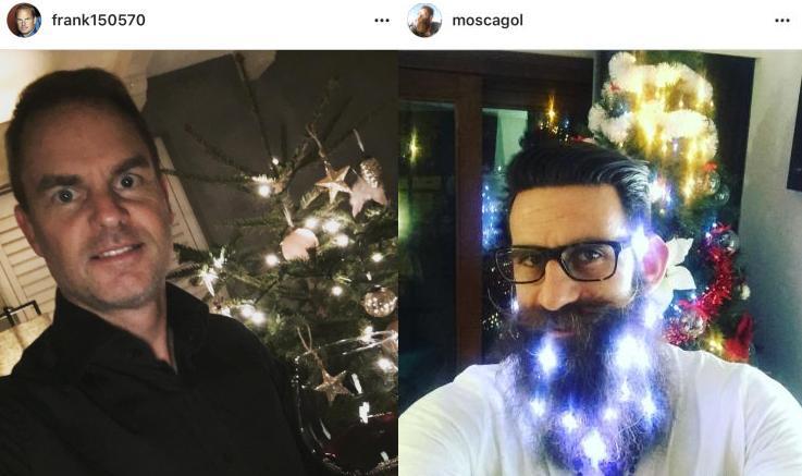 """Natale da Campioni: De Boer si dà al vino, Moscardelli vince il premio """"luci di Natale"""" –GALLERY"""