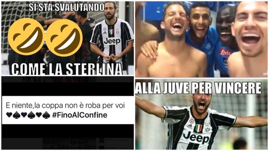 La Juve perde la Supercoppa e Twitter si scatena – l'ironia deisocial