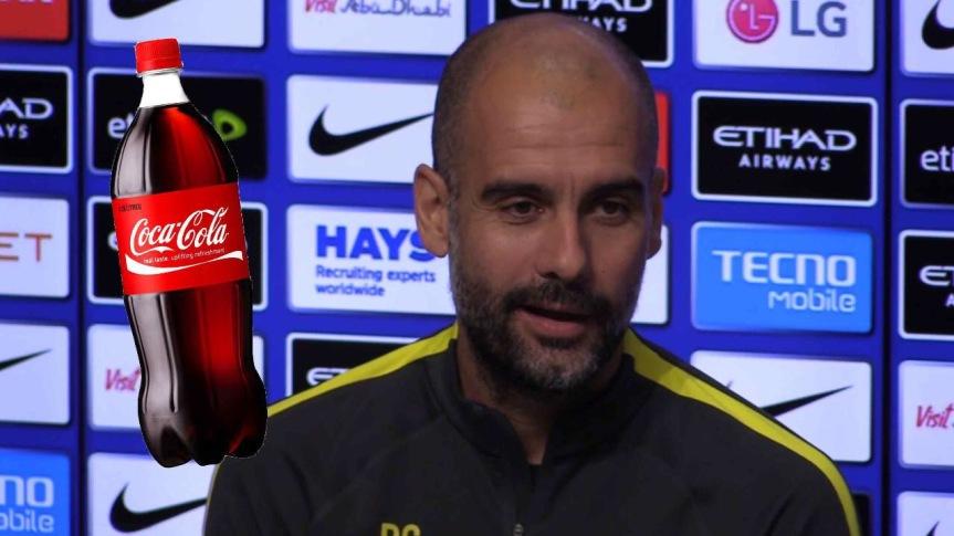 """""""Non posso più bere Coca Cola"""" il nuovo acquisto del City raccontaGuardiola"""