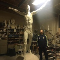 """Ibra e la sua statua: """"Se vai a New York c'è quella della Libertà, a Stoccolma quella di Zlatan"""""""