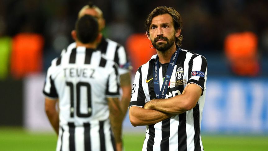 """Pirlo fa discutere ancora: """"In Supercoppa ho tifato Juve"""""""