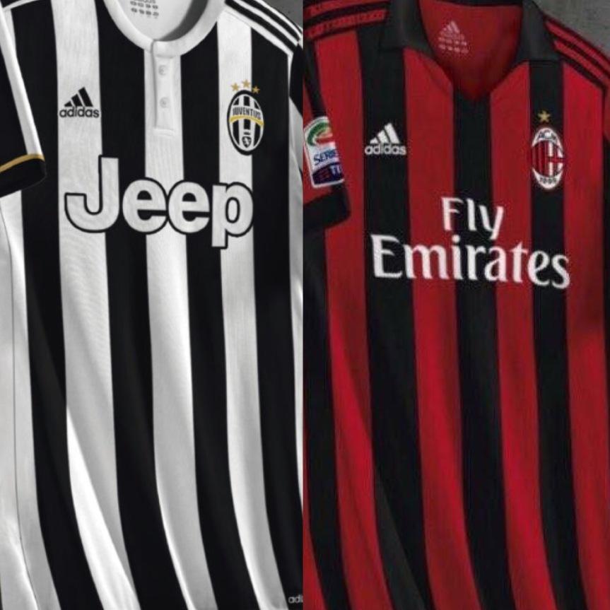 2953bd842 Juventus-Milan: ecco le probabili maglie 2017/2018