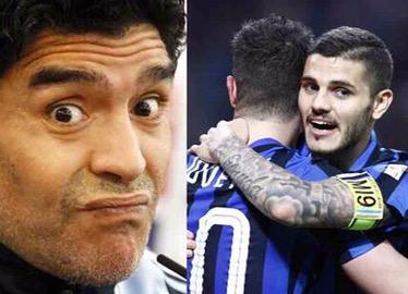 """Maradona attacca ancora Icardi: """"In Nazionale? Meglio un ex calciatore"""""""