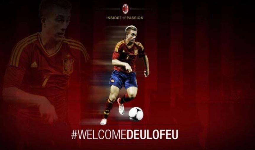 "Giallo Deulofeu. Il Milan: ""E' nostro!"", ma poi cancella ilTweet"