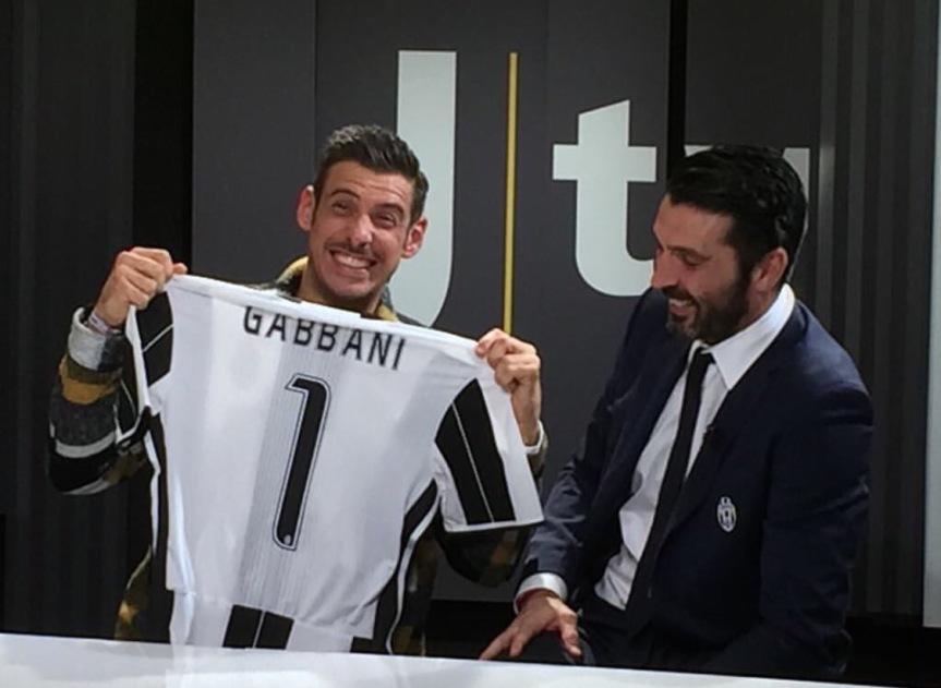 """Lo """"Juventus'Karma"""" di Gabbani: """"Chiellini, quando segni fai il mioballetto"""""""