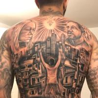 Gabigol, che tatuaggio!