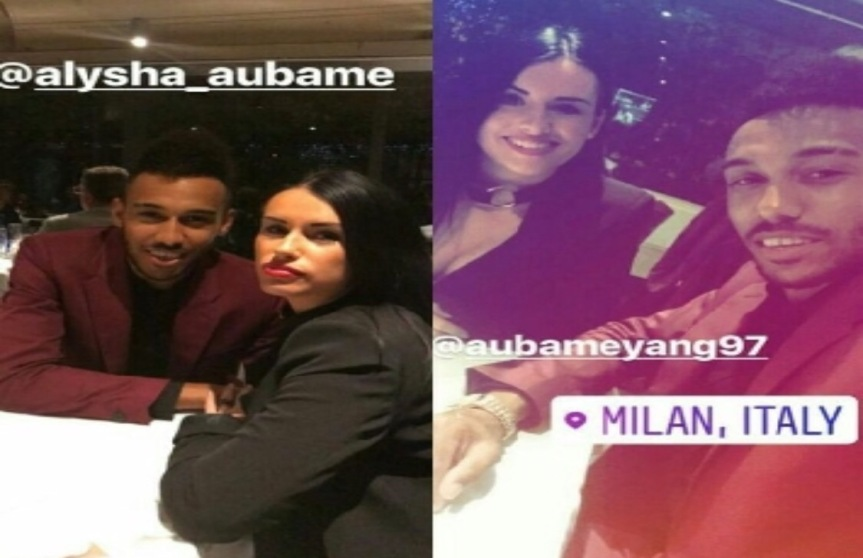 """Aubameyang rossonero: il fratello si """"tagga"""" a Casa Milan e i tifosisognano"""