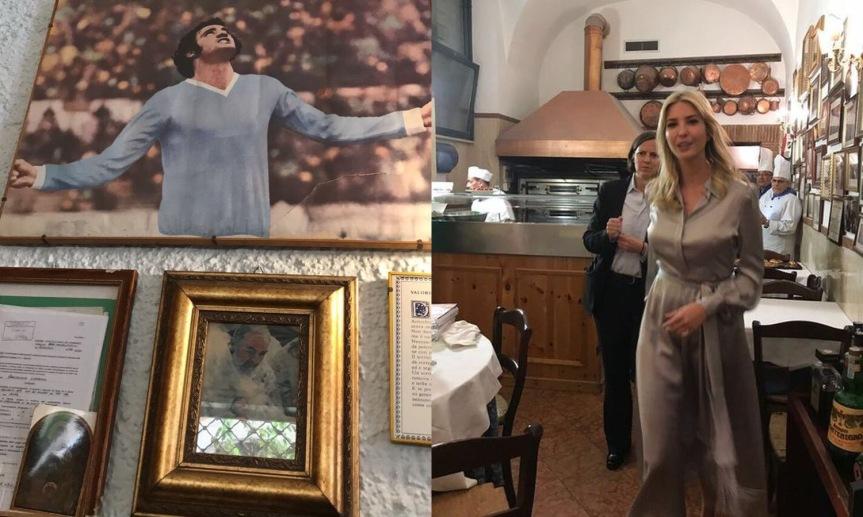 """Ivanka Trump vede Chinaglia e chiede: """"Che Santoè?"""""""