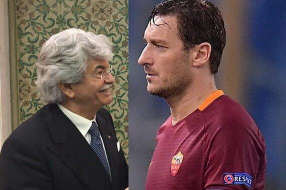 """Razzi vuole Totti al Pescara: """"Gli pagherei io lo stipendio"""""""