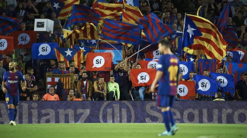 """""""Questo non è un gioco"""", Guardiola e Il derbi del referendum: ecco perché lo sport catalano votaSí"""
