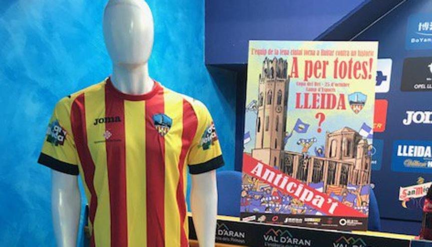 Spagna, arbitro impedisce al Lleida di indossare la maglia con i coloricatalani