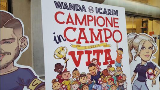 """""""La versione di Wanda"""", così la procuratrice racconta Icardi aibambini"""