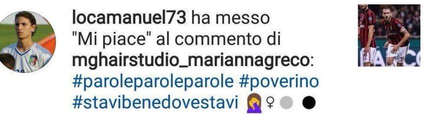 """Locatelli """"senza equilibrio"""": like controBonucci"""